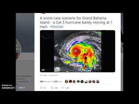 breaking-footage-of-bahama's-destruction!-#dorian-#hurricanedorian
