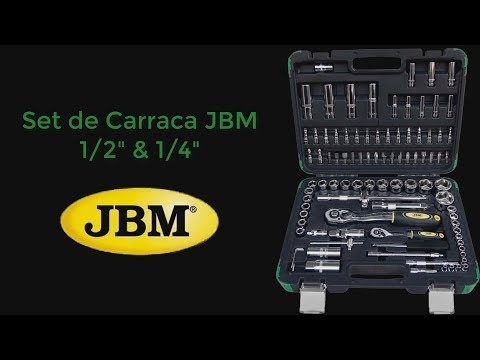 Set Carraca JBM 53011 || ESPAÑOL || || Ratchet jmb ||