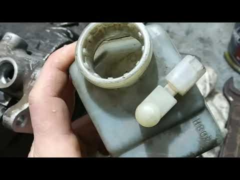 Мерседес А класс замена главного тормозного цилиндра