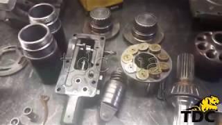 Ремонт гідравліки ходу комбайна John Deere 9500