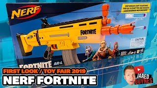 [FIRST LOOK] Nerf Fortnite Blasters - Toy Fair 2019