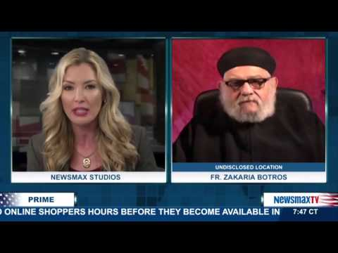 Newsmax Prime | Father Zakaria Botros discusses the plight of Coptic Christians in Egyp