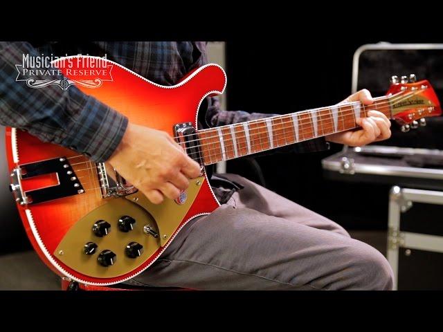 Rickenbacker 660 Electric Guitar, Fireglo