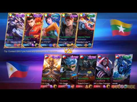 🔴LIVE PHILIPPINES vs MYANMAR National Arena Contest Mobile Legends thumbnail