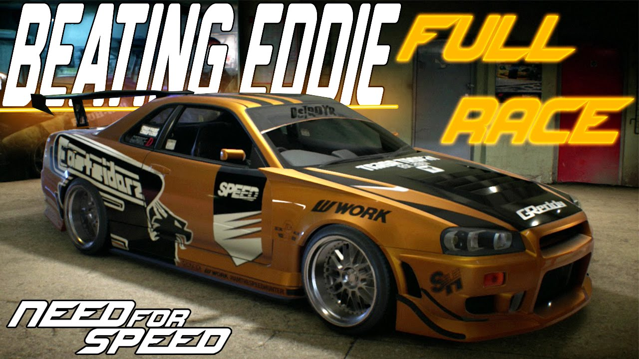 Need For Speed 2015 Racing Eddie Unlocking Eddies Nissan