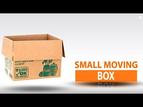 U-Haul Small Moving Box
