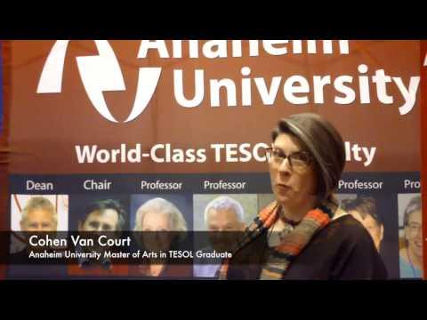 Cohen Van Court, MA TESOL Graduate