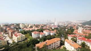 [중국여행]청도 시내를 한눈에 ! 소어산 전망대 /하나…