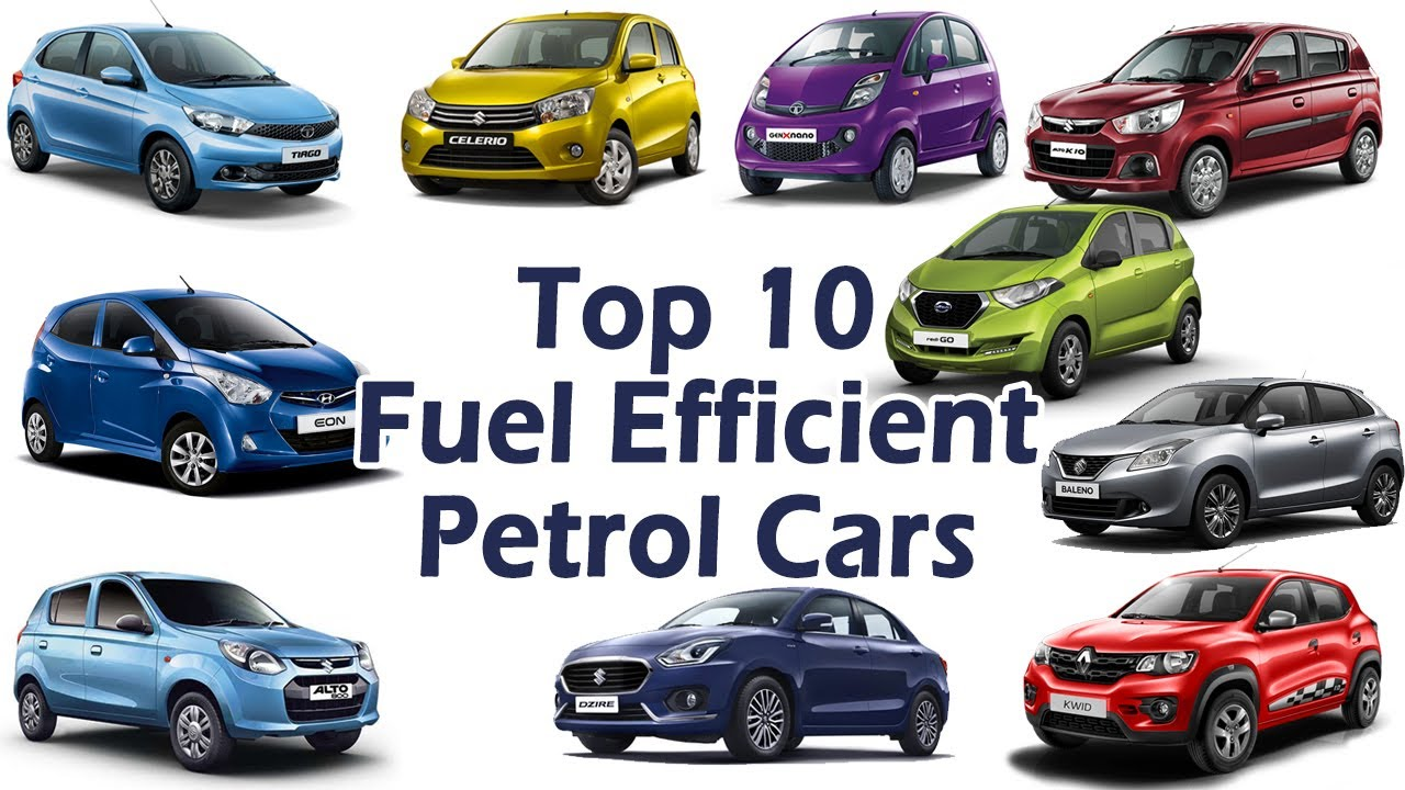 Top 10 Mileage Cars (Petrol) 2017 in India | Mileage, Performance ...