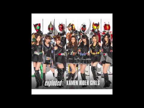 KAMEN RIDER GIRLS - exploded/Warning! Burning!