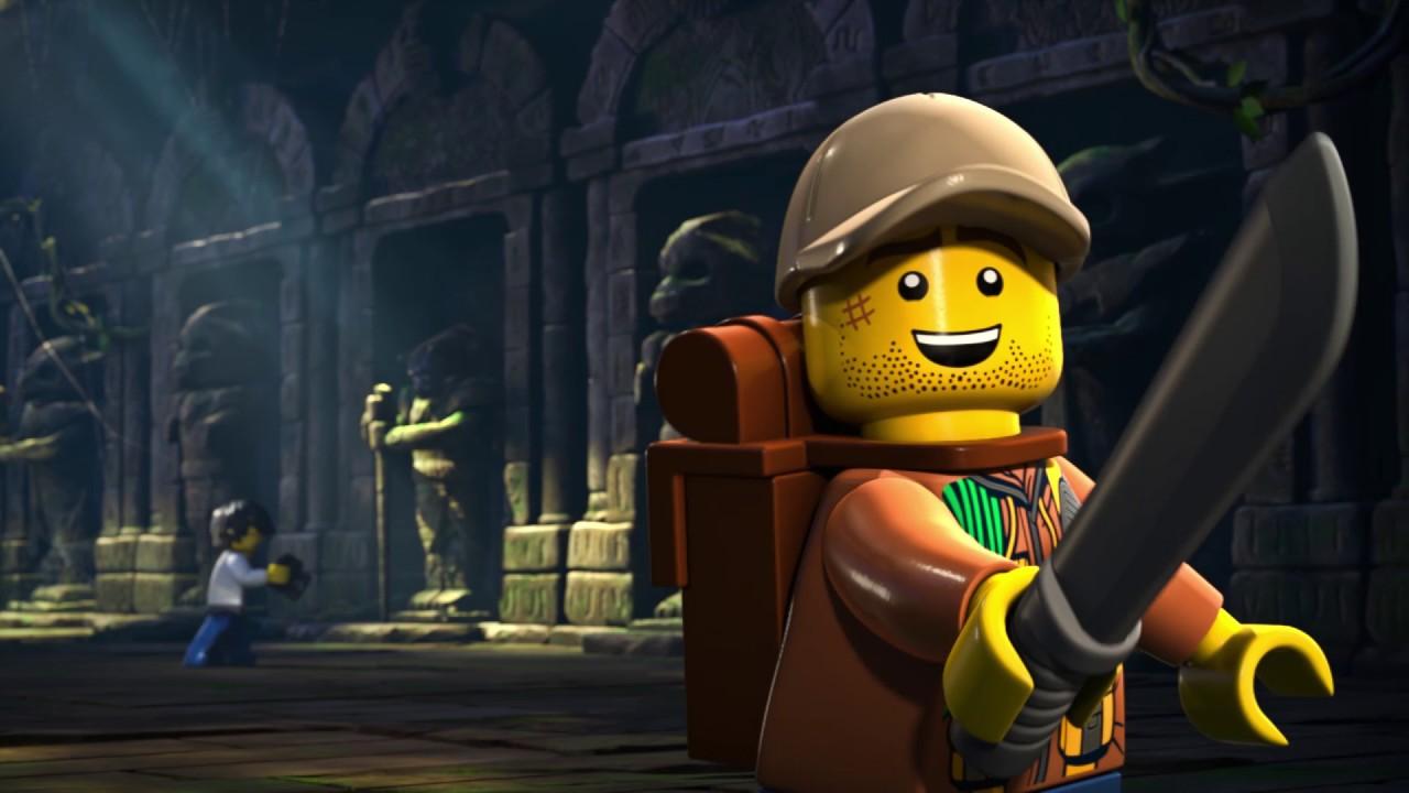 Jungle Rumble Part 3 - LEGO City - Mini Movie - YouTube