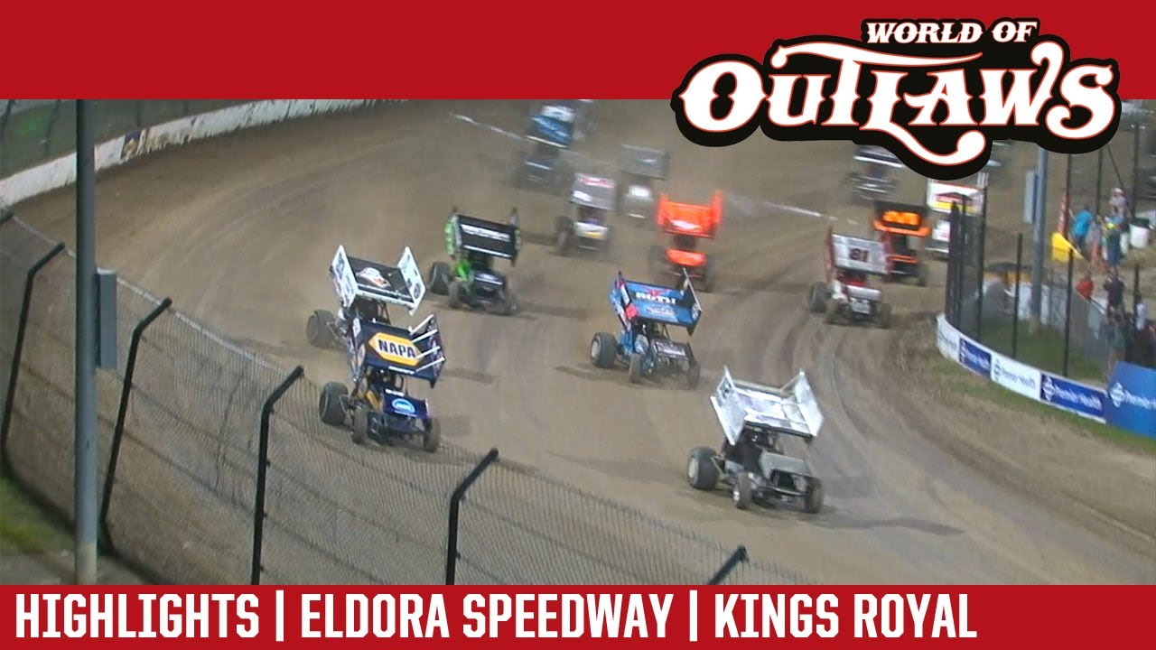 world of outlaws craftsman sprint cars eldora speedway kings royal