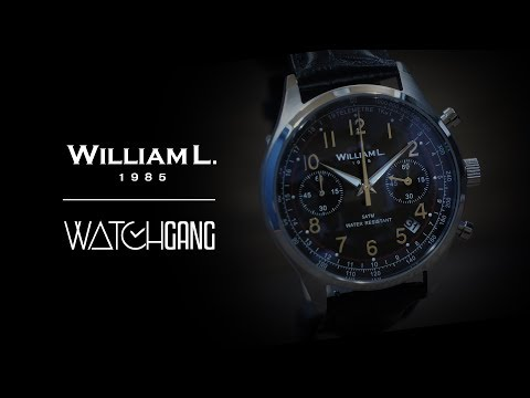 William L. Chronograph | Watch Gang Watch Highlight