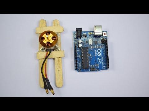 How To Run Brushless Motor Using Arduino