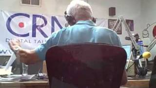 Robert Conrad Talks To Tina Louise On His CRN Talk Show