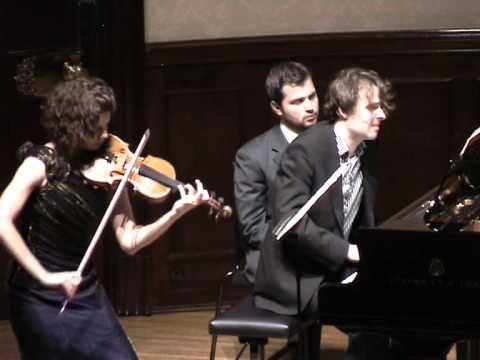 Schumann Violin Sonata No 2 - Mov III, Deborah Marchetti and Stefan Wirth - Wigmore Hall London 2010