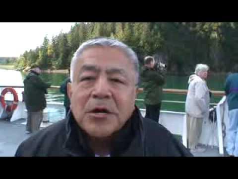 Alaska Cruises, John Martin, Tlingit Speaker