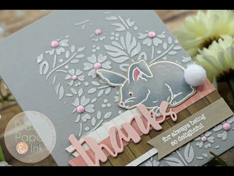 Thanks Bunny | SSS Showers & Flowers | Prismacolor Pencils