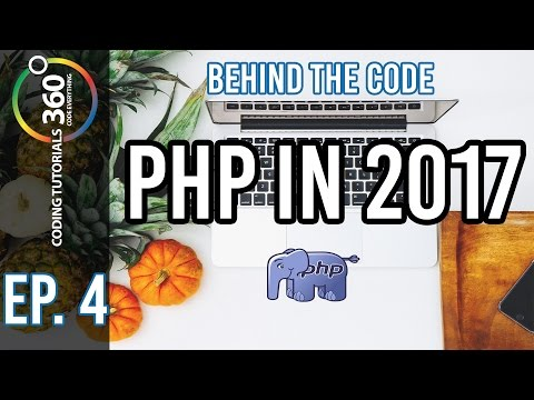 PHP in 2017 - Behind the Code: Ep. 4 - ft. Ethan Totten