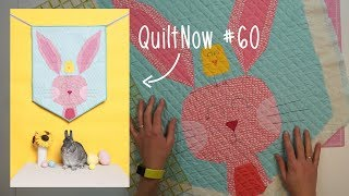 Finishing a wall hanging with a sleeve | Quilt Now #60