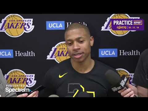 Isaiah Thomas Pregame Interview | Lakers vs Pelicans