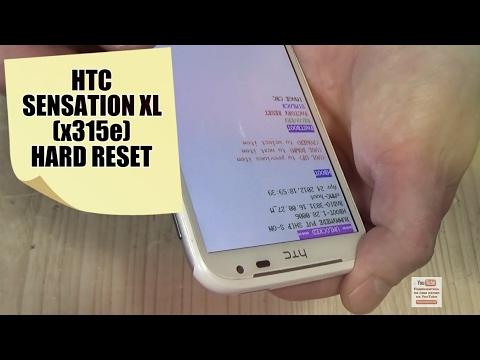 HTC Sensation XL X315e как снять блокировку, форматирование, Hard Reset, не загружается