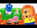 Lion Family | Amazing stories for kids | Cartoon for Kids