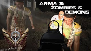 -=ZSU=- Hotel Encounter CO-06 Zombies And Demons (ArmA 3)(ZSU's first look at Zombies and Demons; We are tasked with Infiltrating an abandoned town, retrieve the suitcase from the hotel and deliver it back to our base., 2015-09-16T04:50:12.000Z)