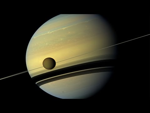 Titan's Oceans observed by CASSINI Radar - Howard Zebker (SETI Talks)