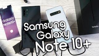 Обзор Galaxy Note 10+, Плюсы, минусы и нюансы при первом знакомстве