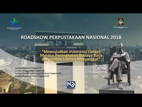 LIVE! Perpustakaan Nasional Republik Indonesia, Roadshow Perpustakaan Nasional 2018