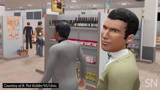 Visiting a VR supermarket | Science News