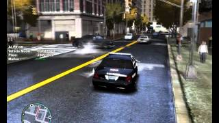 GTA IV: LCPDFR on Patrol - Taser Deployed + going CODE 3 in Alderney!