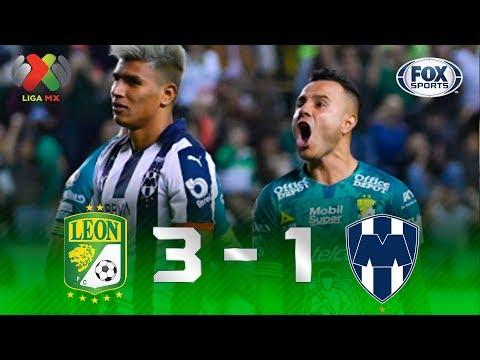 León - Monterrey [3-1] | GOLES | Jornada 5 | Liga MX