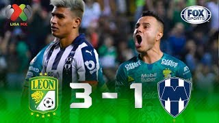 León - Monterrey [3-1]   GOLES   Jornada 5   Liga MX