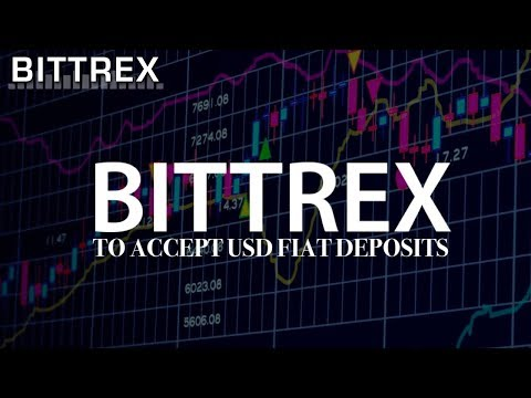 Bittrex To Accept USD Fiat Deposits According to CEO Bill Shihara | Coinbase/GDAX/Gemini