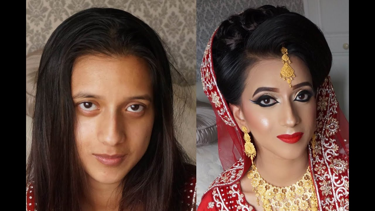 real bride signature traditional asian bridal makeup