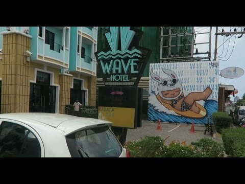 PATTAYA, THE WAVE BOUTIQUE HOTEL BEACH ROAD, Vlog 178