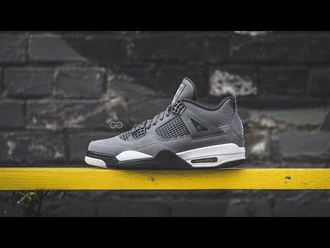 "Air Jordan 4 Retro ""Cool Grey"": Review & On-Feet"