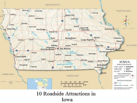 Iowa Roadside Attractions - 10 Places You May Not Know About