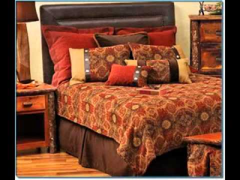 Burnt orange bedroom decorating ideas - YouTube