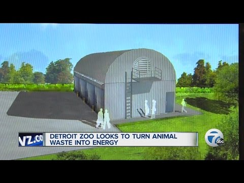 Detroit Zoo turning poo into power