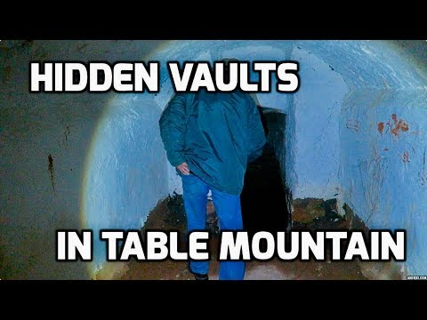 Cape Town Water Crisis // HIDDEN VAULTS IN TABLE MOUNTAIN