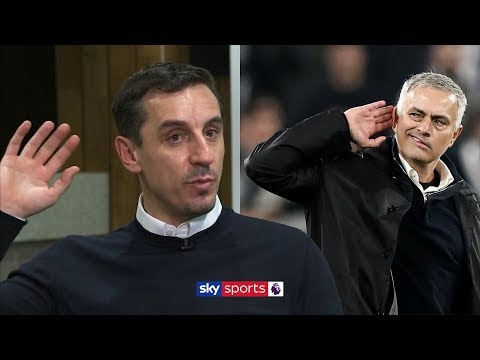 What did Gary Neville think of Jose Mourinho's gesture against Juventus?