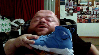 Sneaker Seeking Blue Nikes