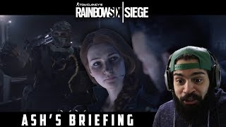 Rainbow Six Siege: Outbreak - Ash's Briefing | Trailer Reaction |The Invasion Show|