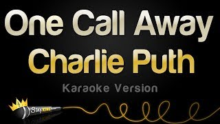 Video Charlie Puth - One Call Away (Karaoke Version) download MP3, MP4, WEBM, AVI, FLV April 2018