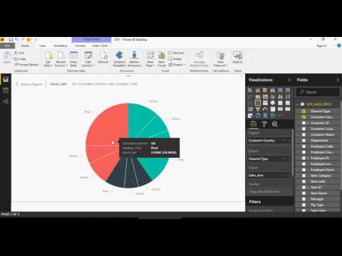 Power BI - Do it Yourself Tutorial - Understanding Visualizations - DIY -3-of-50
