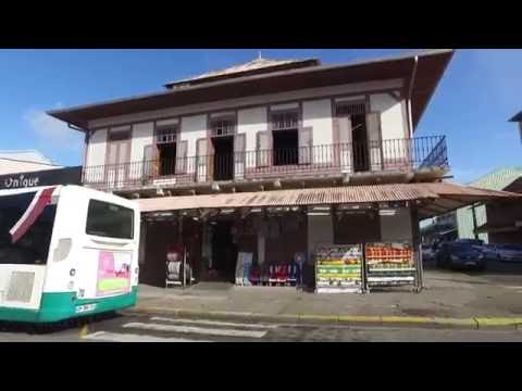 Walking around Cayenne, French Guiana. Aug 2016 DJI OSMO 3/4