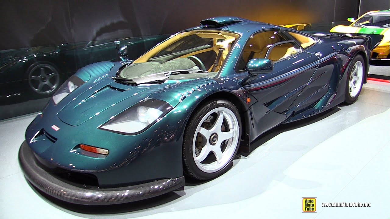1997 McLaren F1 GT - Walkaround - 2015 New York Auto Show - YouTube